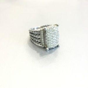 DAVID YURMAN WHEATON 16X12 DIAMOND RING SIZE